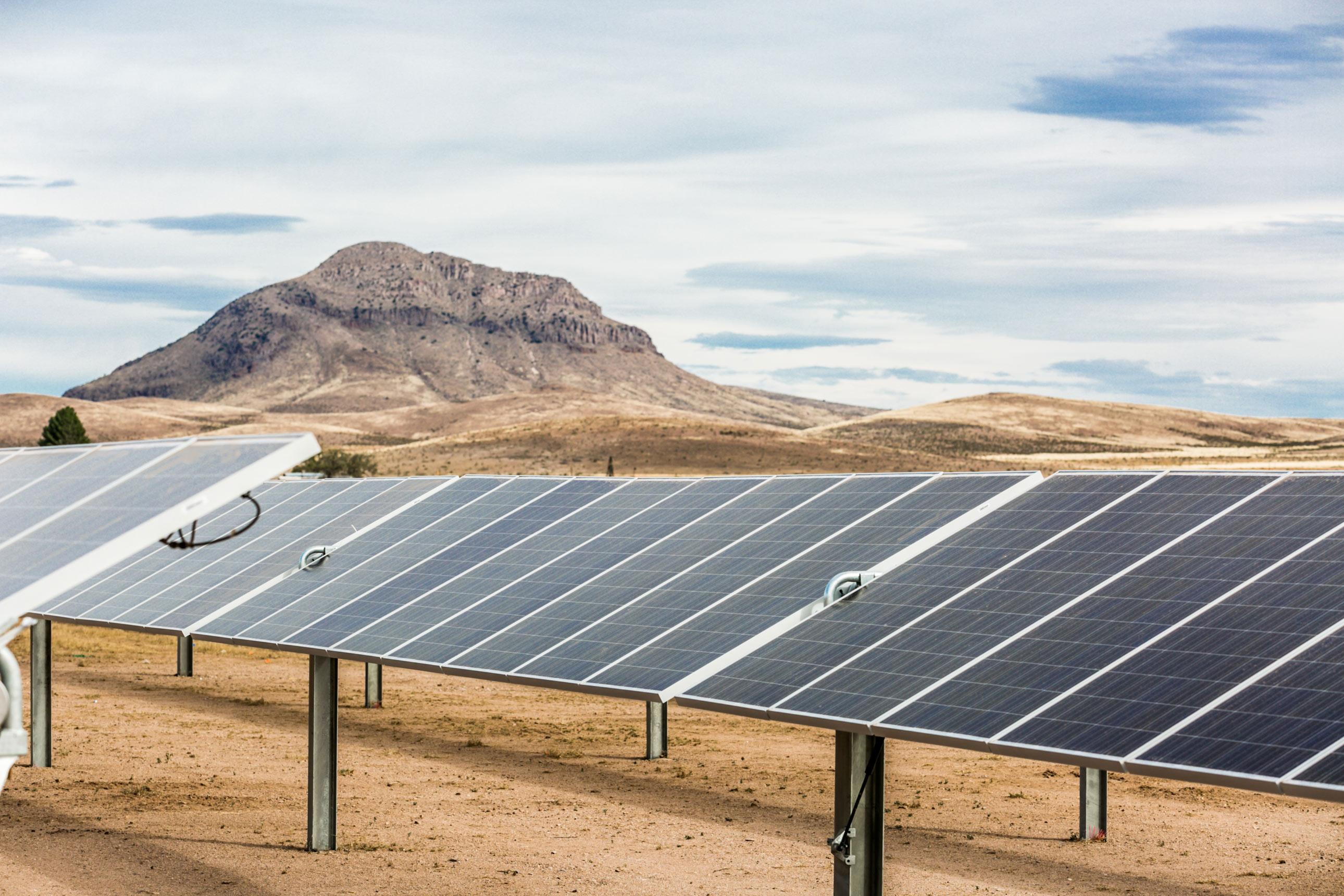 25MW AC Alta Luna Solar Project